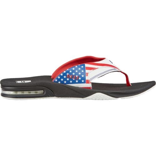 Reef Men's Fanning Stars and Stripes Sandals
