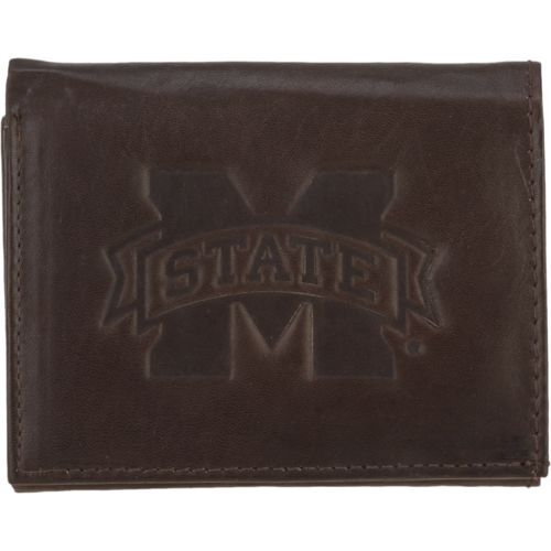 Rico Men's Mississippi State University Trifold Wallet
