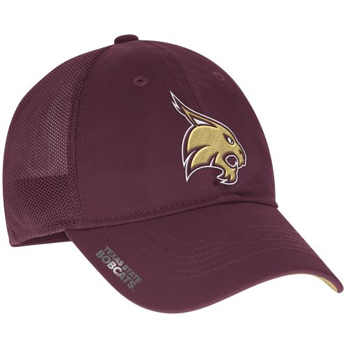 adidas™ Men's Texas State University Coach Flex Meshback Slope Cap