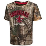 Colosseum Athletics™ Toddler Boys' University of Louisiana at Lafayette Blacktail Camo T-sh