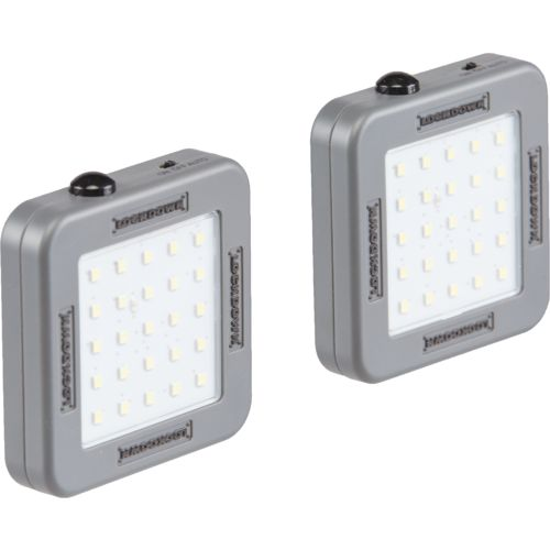 Lockdown Automatic Cordless 25-LED Vault Lights 2-Pack