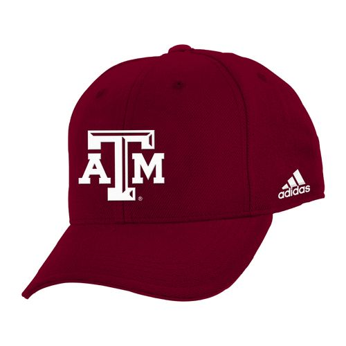 adidas™ Boys' Texas A&M University Structured Adjustable Cap