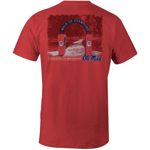 Image One Men's University of Mississippi Walk of Champions Comfort Color T-shirt