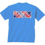 New World Graphics Women's Louisiana Tech University Madras T-shirt