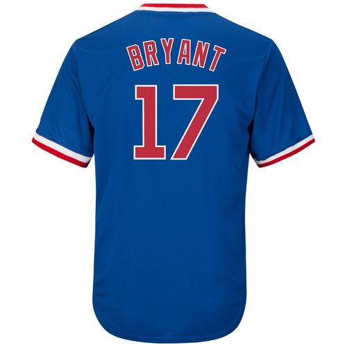 Majestic Men's Chicago Cubs Kris Bryant #17 Cool Base Cooperstown Jersey