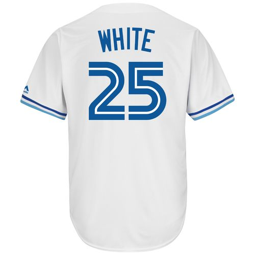 Majestic Men's Toronto Blue Jays Devon White #25 Cool Base Cooperstown Jersey