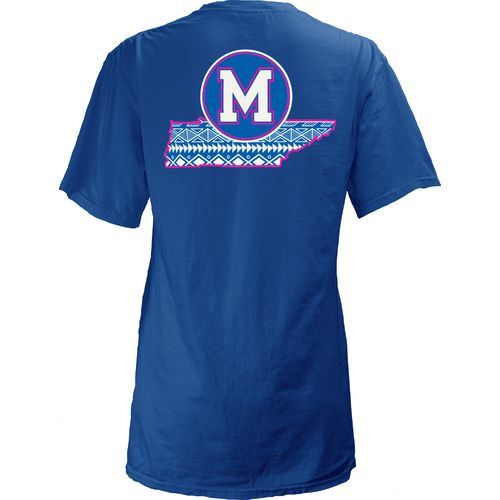 Three Squared Juniors' University of Memphis Moonface T-shirt