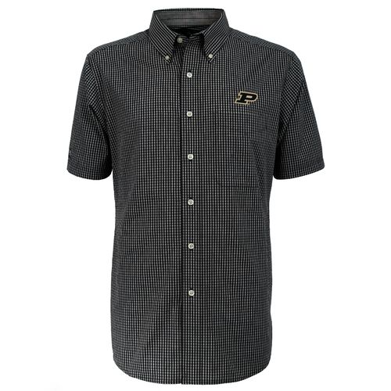 Antigua Men's Purdue University League Short Sleeve Shirt