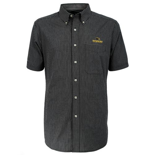 Antigua Men's University of Southern Mississippi League Short Sleeve Shirt
