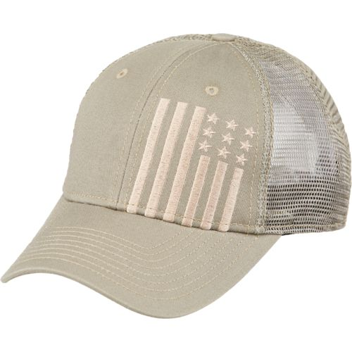 Academy Sports + Outdoors Men's Flag Trucker Hat - view number 2