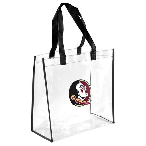 Team Beans Florida State University Clear Reusable Bag
