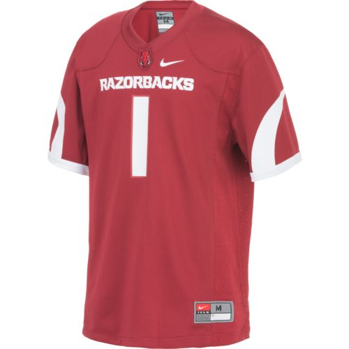 Nike™ Boys' University of Arkansas Replica Football Jersey