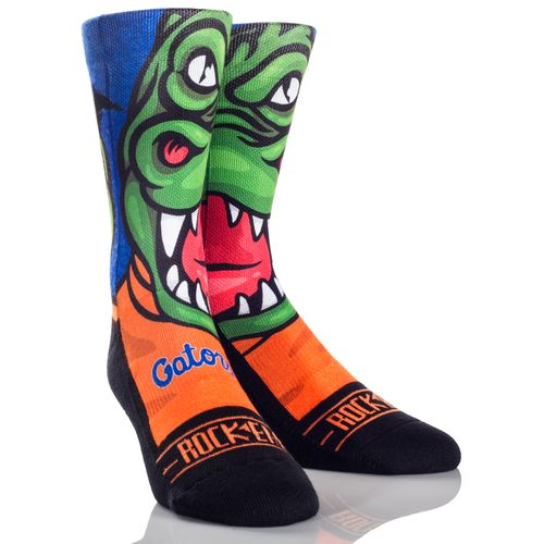 Rock 'Em Apparel Men's University of Florida Albert Mascot Socks