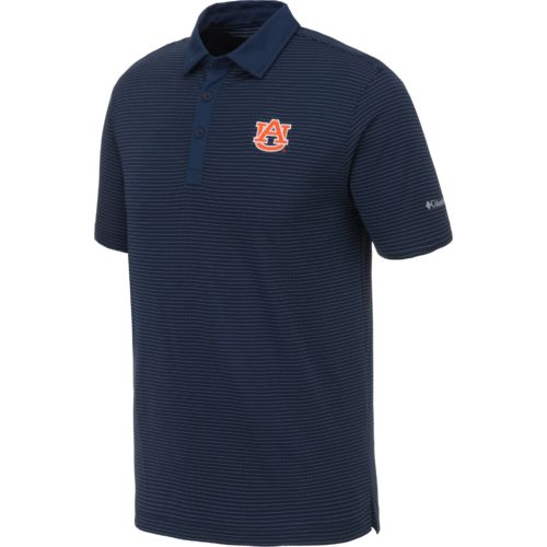 Columbia Sportswear Men's Auburn University Omni-Wick Sunday Polo Shirt