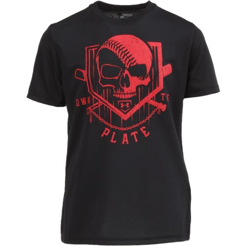 Under Armour Boys' Own the Plate T-shirt