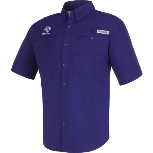 Columbia Sportswear Men's Stephen F. Austin State University Tamiami™ Button Down Shirt - view number 1