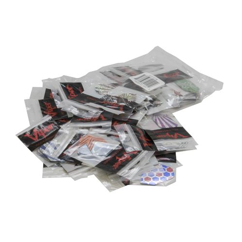 GLD 2-D Glitter Slim Dart Flights 150-Count