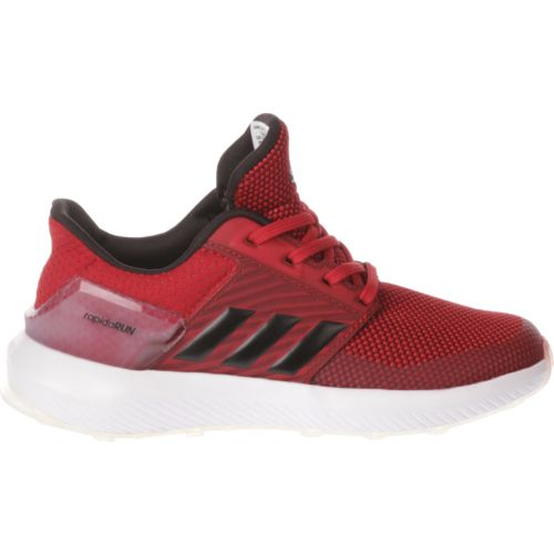 Display product reviews for adidas Boys' RapidaRun Running Shoes