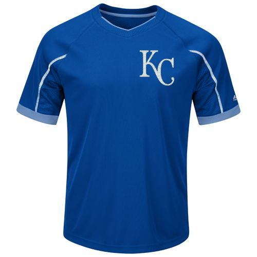 Majestic Men's Kansas City Royals Emergence V-neck T-shirt