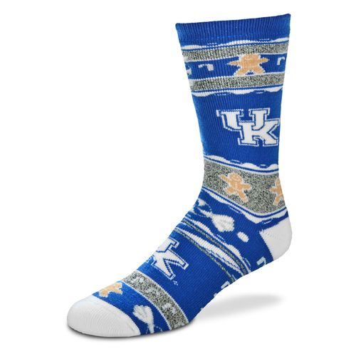 FBF Originals Men's University of Kentucky Christmas Sweater Socks