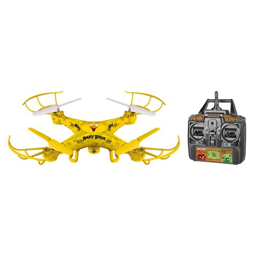 World Tech Toys Angry Birds Chuck Squawk-Copter RC Camera Drone