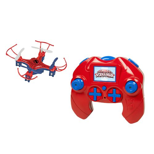World Tech Toys Marvel Avengers Spider-Man Micro Drone RC Quadcopter