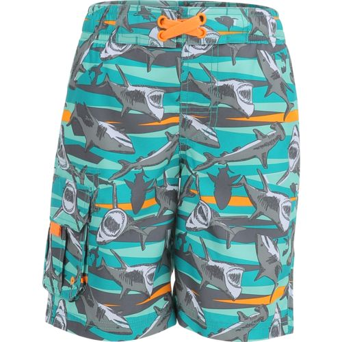 O'Rageous Boys' Jaws E-boardshort