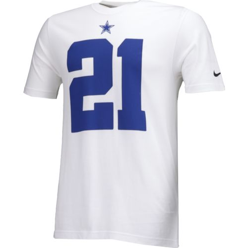 Nike Men's Dallas Cowboys Ezekiel Elliott 21 Player Pride Name and Number T-shirt