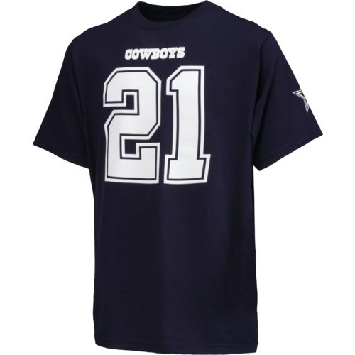 Dallas Cowboys Youth Ezekiel Elliott #21 Eligible Player T-shirt