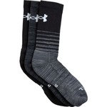 Under Armour Men's Phenom Twisted Crew Socks 3 Pairs - view number 1