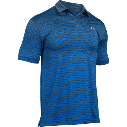 Under Armour Men's Trajectory Stripe Polo Shirt