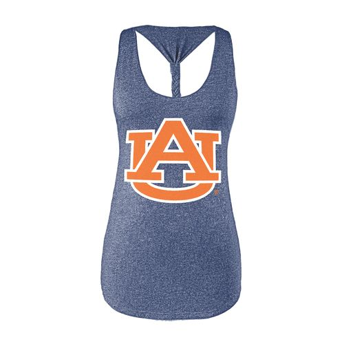 Chicka-d Women's Auburn University Braided Tank Top