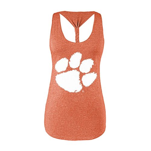 Chicka-d Women's Clemson University Braided Tank Top