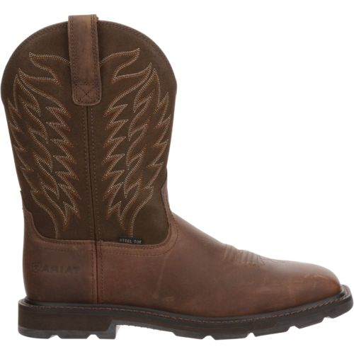 Display product reviews for Ariat Men's Manvel Steel-Toe Wellington Work Boots