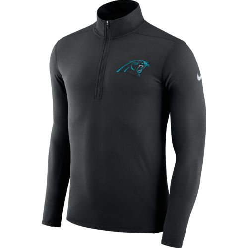 Nike™ Men's Carolina Panthers Element Dry 1/4 Zip Pullover