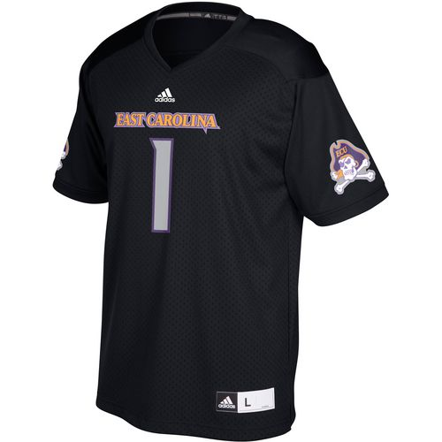 adidas Men's East Carolina University Replica Football Jersey