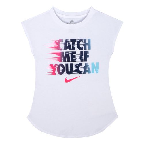 Nike Girls' Catch Me Modern T-shirt - view number 1