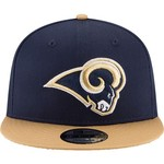 New Era Men's Los Angeles Rams 9FIFTY Baycik Snapback Cap - view number 6
