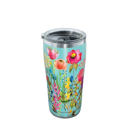 Tervis Watercolor Wildflowers 20 oz Stainless Steel Tumbler