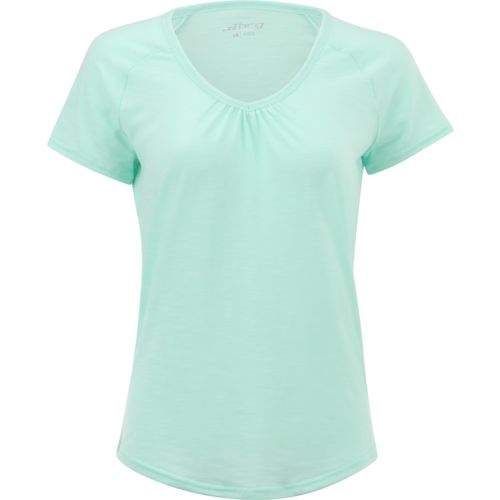 Display product reviews for BCG Women's Explorer Short Sleeve V-neck Marled Raglan Top