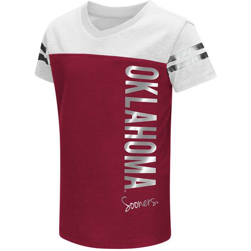 Colosseum Athletics Toddlers' University of Oklahoma Cricket T-shirt
