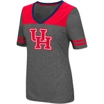 Colosseum Athletics Women's University of Houston Twist V-neck 2.3 T-shirt - view number 1