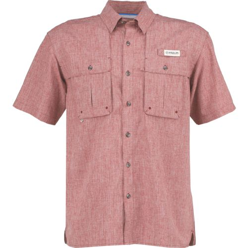 Display product reviews for Magellan Outdoors Men's Aransas Pass Heather Short Sleeve Fishing Shirt