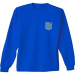 New World Graphics Women's Saint Louis University Faux Pocket T-shirt - view number 2