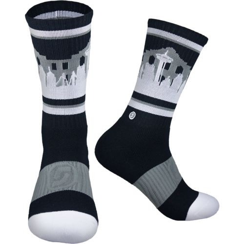 Skyline San Antonio Basketball Crew Socks