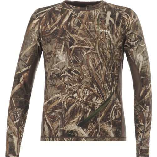 Magellan Outdoors Men's Eagle Bluff Long Sleeve Reversible Shirt - view number 1