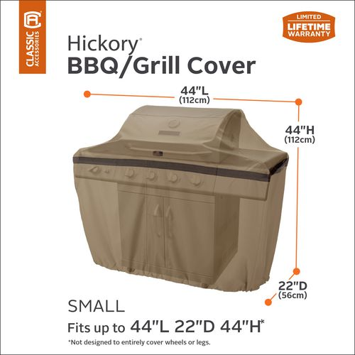 Classic Accessories Hickory Barbecue Grill Cover - view number 10