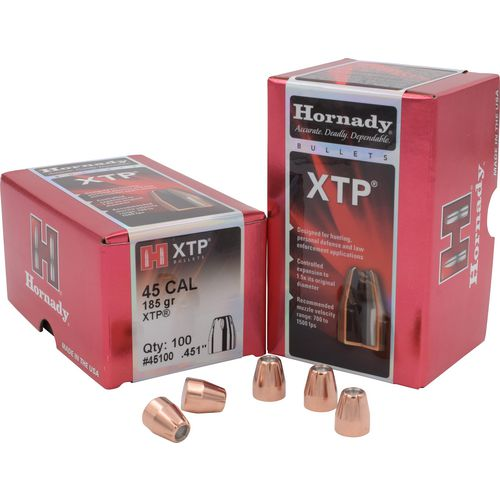 Hornady HP XTP® .45 185-Grain Bullets - view number 1