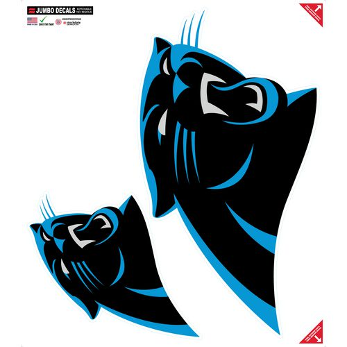 Stockdale Carolina Panthers Jumbo All-Surface Decal