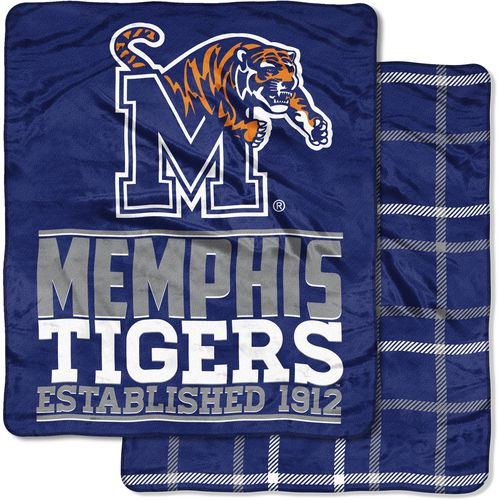 The Northwest Company University of Memphis 60 in x 70 in Cloud Throw Blanket
